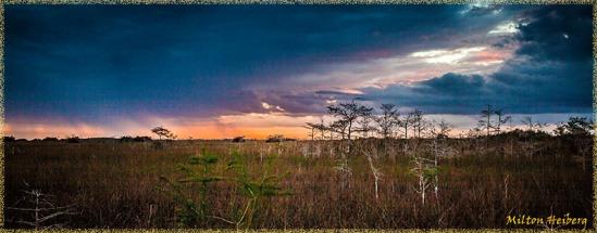 Sunset at Pa-hay-okee