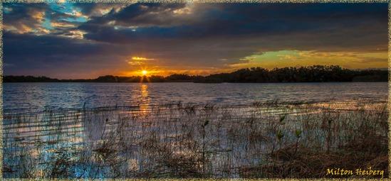 Sunrise at Nine Mile Pond