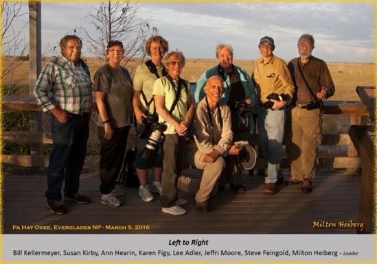 Group shot by Milton Heiberg