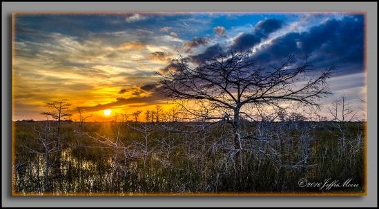 Sunset at Pa-Hay-Okee by Jeffri Moore